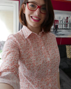 Chemise Rosa - Tilly and the buttons