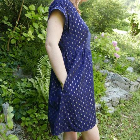 Fringe dress - Chalk and notch