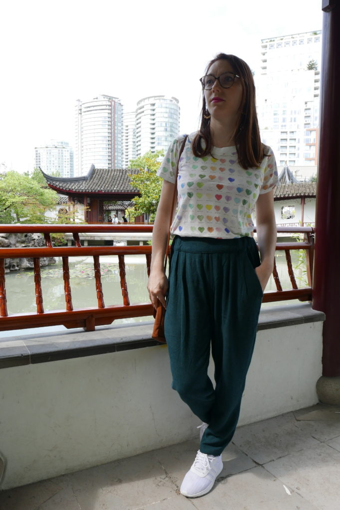 pantalon carrie trousers sew over it
