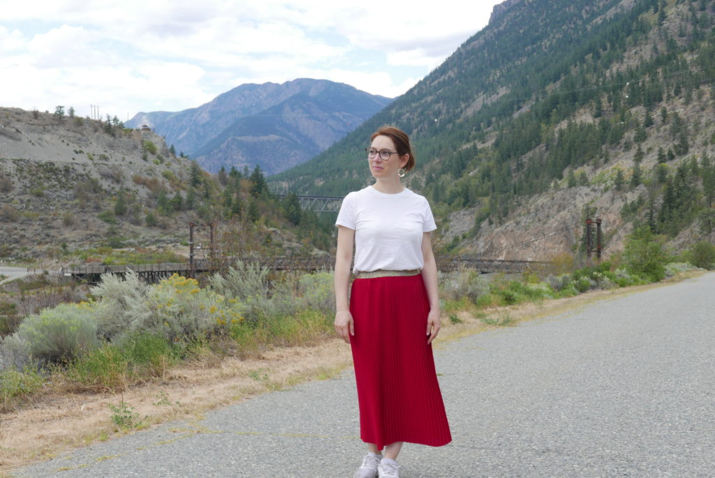 jupe plissée 6