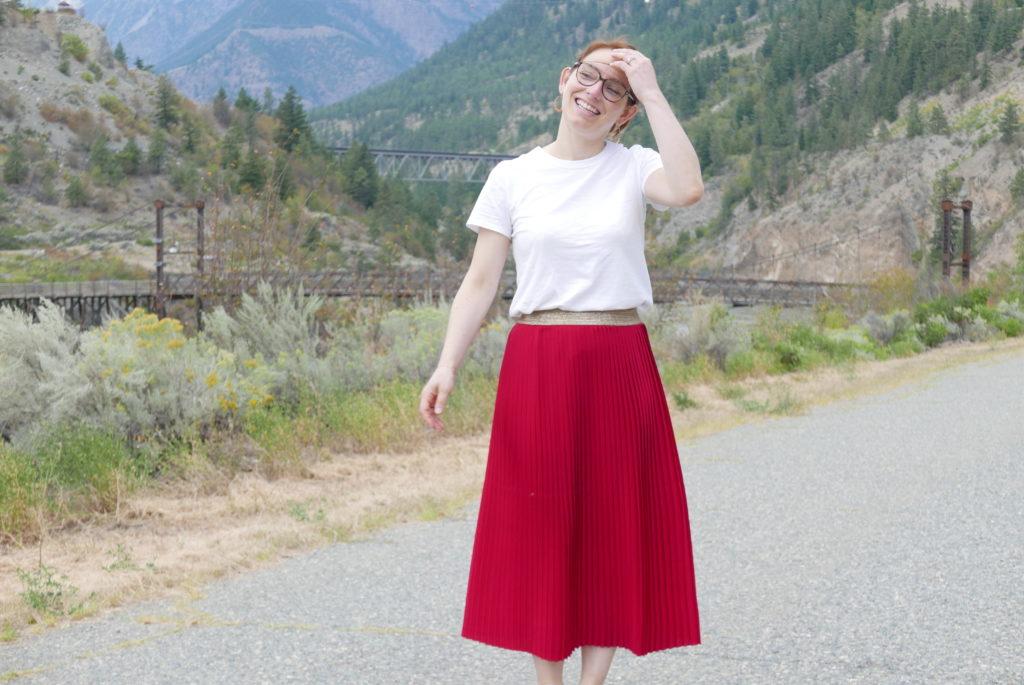 jupe plissée 7