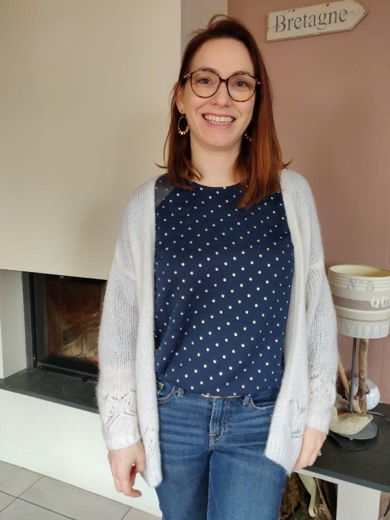 blouse stockholm face gilet