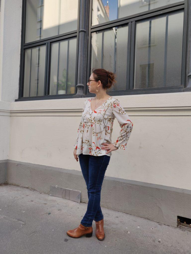 blouse Eugénie profil