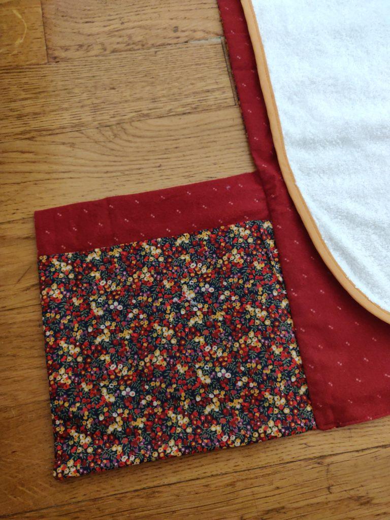 tapis à langer nomade détail poche