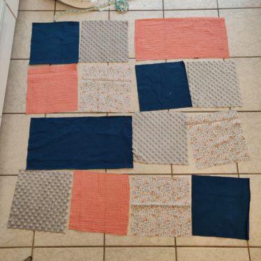 disposition des carrés