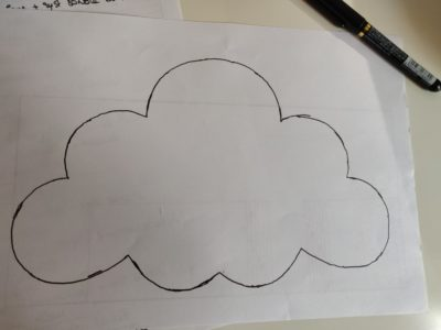 gabarit nuage