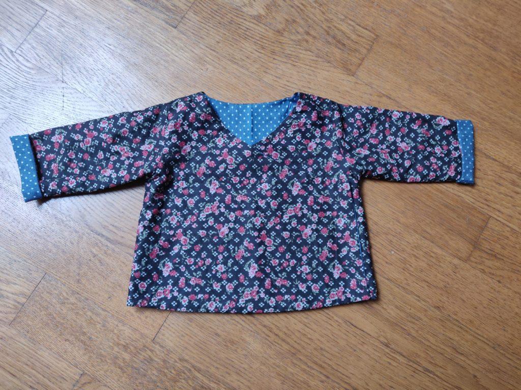 kimono réversible marie claire idées