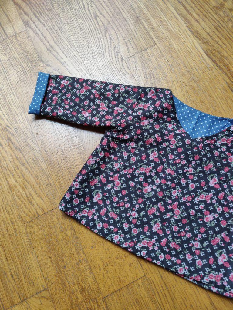 kimono réversible marie claire idées zoom manches
