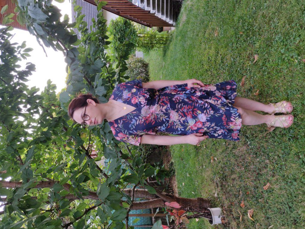 robe charlotte de face en entier