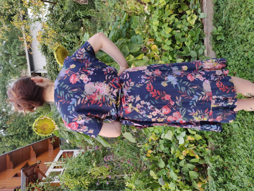 robe charlotte de dos