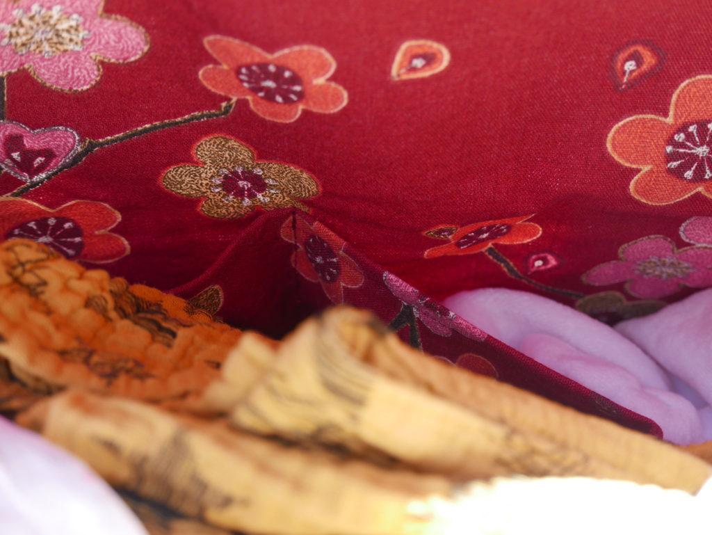 sac à langer poches intérieures